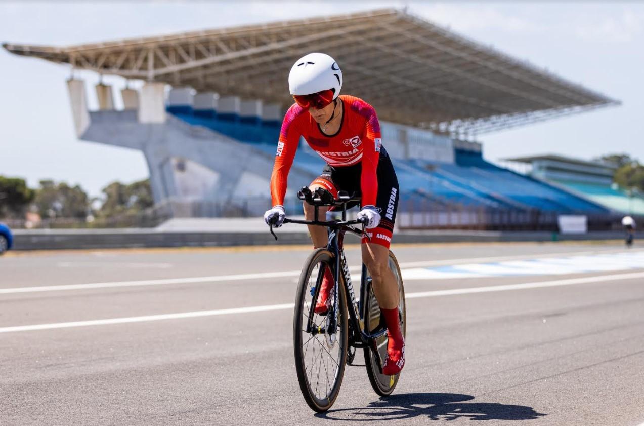 IMit zweimal Platz 4 von der UCI Para-CyclingWM aus Casais (Portugal) zurück