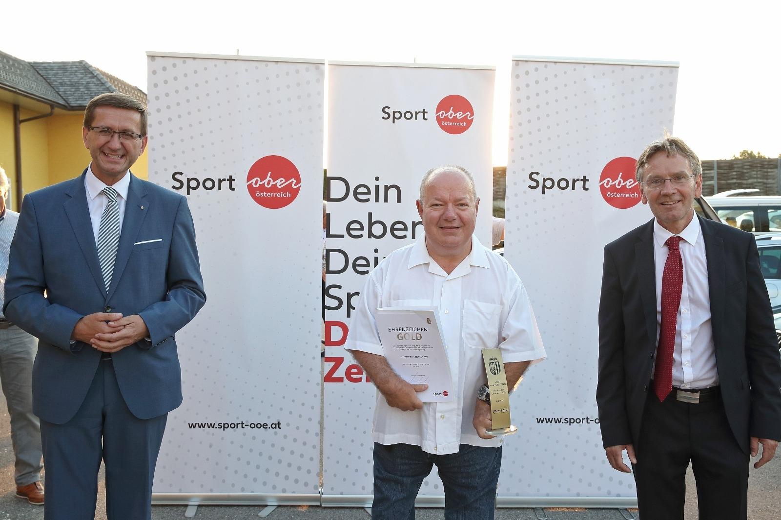 IEmatinger Dietmar, goldenes Ehrenzeichen