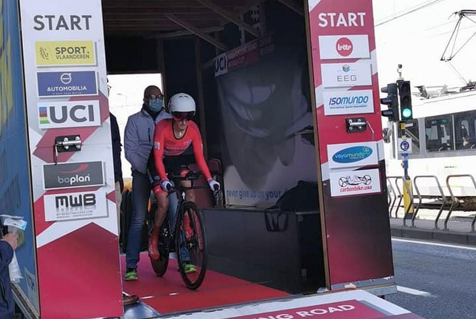 IMit Bronze im Einzelzeitfahren und Platz 4 im Straßenrennen ist Yvonne Marzinke vom Weltcup zurück